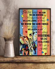 Autism Elephant 11x17 Poster lifestyle-poster-3