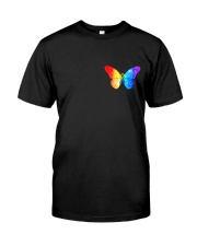 LGBT Spread The Love 2 Sides  Classic T-Shirt front