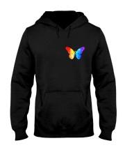 LGBT Spread The Love 2 Sides  Hooded Sweatshirt tile