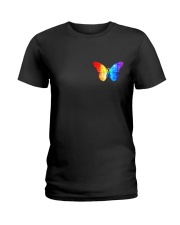 LGBT Spread The Love 2 Sides  Ladies T-Shirt tile