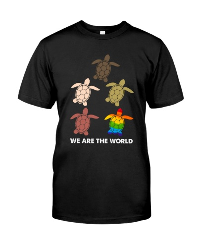 LGBT - Turtle - We Are The World