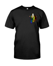 LGBT Flag 2 Sides  Classic T-Shirt front