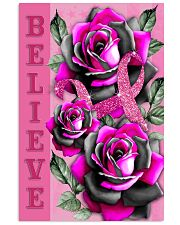Breast Cancer - Believe 11x17 Poster thumbnail