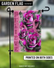 "Breast Cancer - Believe 11.5""x17.5"" Garden Flag aos-garden-flag-11-5-x-17-5-lifestyle-front-11"