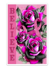 Breast Cancer - Believe Sticker - Single (Vertical) thumbnail