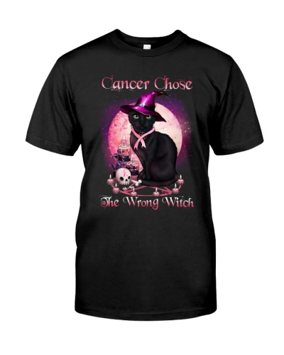 Breast Cancer - Cancer Chose The Wrong Witch