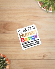 LGBT- Human Being Sticker Sticker - Single (Vertical) aos-sticker-single-vertical-lifestyle-front-07