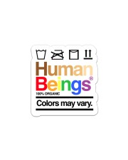 LGBT- Human Being Sticker Sticker - Single (Vertical) front