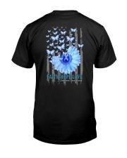 Diabetes Faith Hope Love 2 Sides Classic T-Shirt back