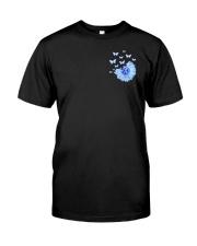 Diabetes Faith Hope Love 2 Sides Classic T-Shirt front