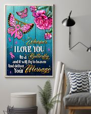 Breast Cancer Butterfly Messages   11x17 Poster lifestyle-poster-1