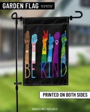 "Lgbt - Be Kind v2 11.5""x17.5"" Garden Flag aos-garden-flag-11-5-x-17-5-lifestyle-front-11"