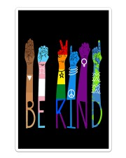 Lgbt - Be Kind v2 Sticker - Single (Vertical) thumbnail