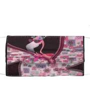 Flamingo - Breast Cancer Zip Tote Cloth face mask thumbnail