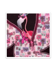 Flamingo - Breast Cancer Zip Tote Sticker - Single (Vertical) thumbnail