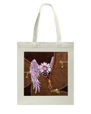 Breast Cancer Wings Tote Bag thumbnail