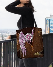 Breast Cancer Wings All-over Tote aos-all-over-tote-lifestyle-front-05