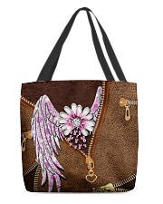 Breast Cancer Wings All-over Tote back