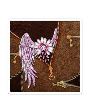 Breast Cancer Wings Sticker - Single (Vertical) thumbnail
