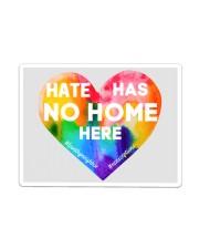 Hate Has No Home Here Heart Yard Sign Sticker - Single (Horizontal) thumbnail