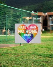 Hate Has No Home Here Heart Yard Sign 24x18 Yard Sign aos-yard-sign-24x18-lifestyle-front-21