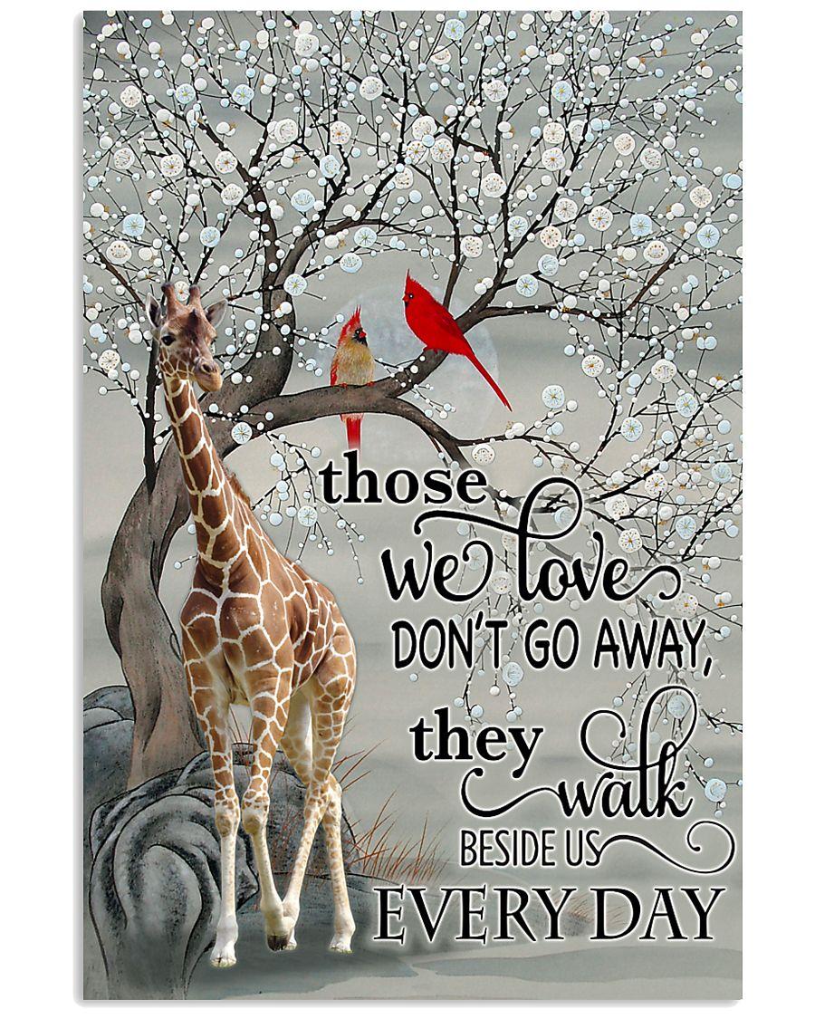 Giraffe Poster 11x17 Poster