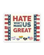 Lgbt - Hate Won't Make US Great Sticker tile