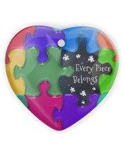 Autism - Every Piece Ornament Heart ornament - single (wood) thumbnail