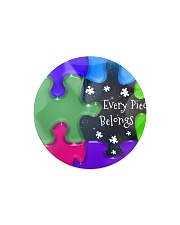 Autism - Every Piece Ornament Circle Magnet thumbnail
