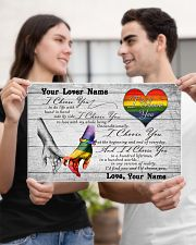 LGBT - I Choose You Customized Name 17x11 Poster poster-landscape-17x11-lifestyle-20