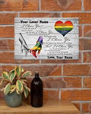 LGBT - I Choose You Customized Name 17x11 Poster poster-landscape-17x11-lifestyle-23