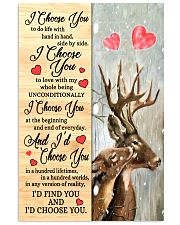 Deer - I Choose You Poster 11x17 Poster front