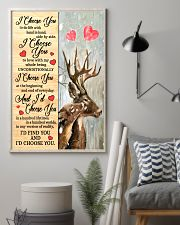 Deer - I Choose You Poster 11x17 Poster lifestyle-poster-1