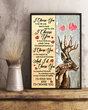 Deer - I Choose You Poster 11x17 Poster lifestyle-poster-3