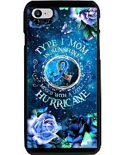 Diabetes - Type I Mom Is Sunshine - DVHPQH060520 Phone Case i-phone-8-case