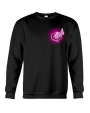 Breast Cancer God Strengthens Me 2 Sides Crewneck Sweatshirt tile