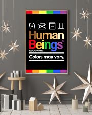 LGBT - Human Beings Poster 11x17 Poster lifestyle-holiday-poster-1