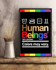 LGBT - Human Beings Poster 11x17 Poster lifestyle-poster-3
