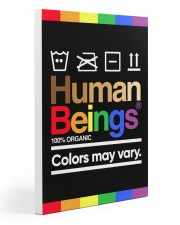 LGBT - Human Beings Poster 20x30 Gallery Wrapped Canvas Prints thumbnail