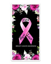 Breast Cancer Faith Hope Love Phonecase Sticker - Single (Vertical) thumbnail