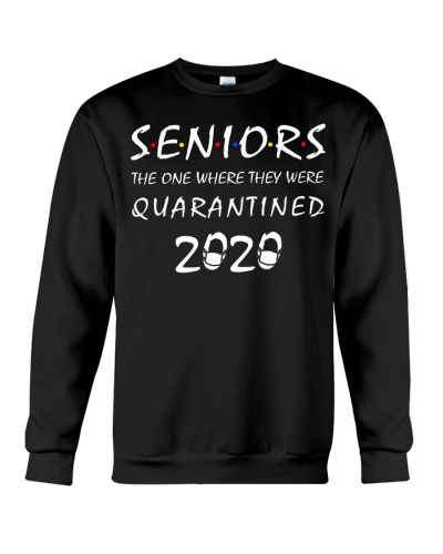 Senior The One Where They Were Quarantined 2020