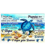 Turtle  Dance 17x11 Poster front