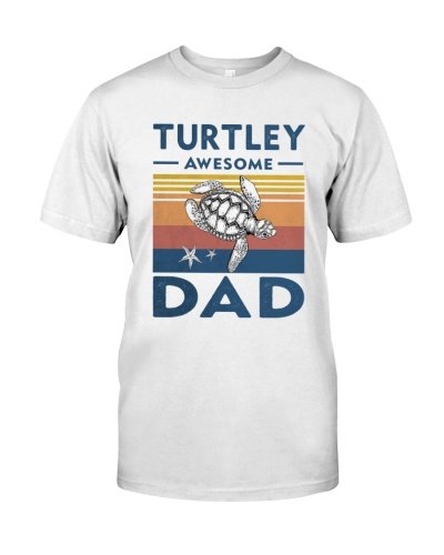 Turtley Awesome Dad