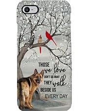 German Shepherd - They Walk Beside Us Everyday  Phone Case i-phone-7-case