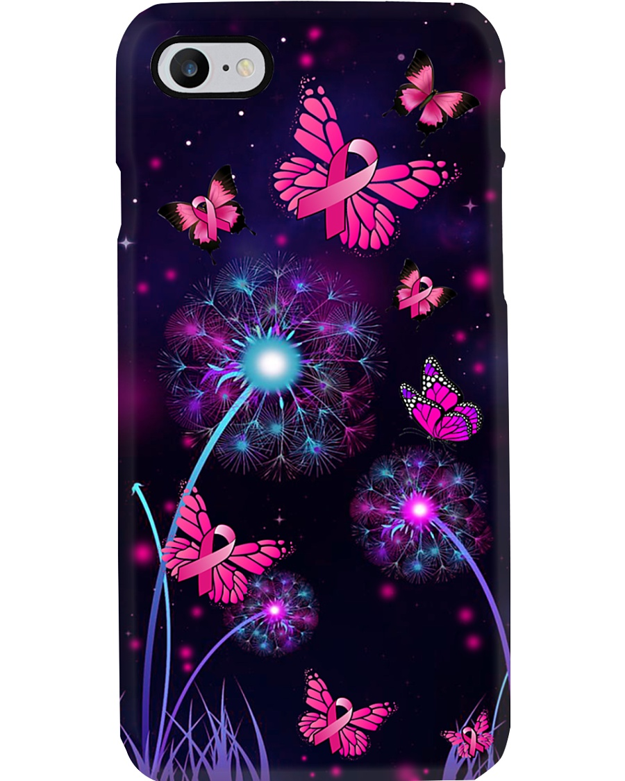 BC - Midnight Dandelion Butterflies  Phone Case