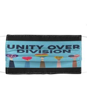 LGBT - Unity Over Division Cloth face mask thumbnail