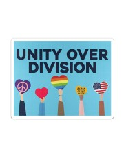 LGBT - Unity Over Division Sticker - Single (Vertical) thumbnail