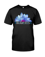Diabetes Never Give Up Classic T-Shirt front