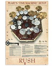 Drum Set Time Machine 11x17 Poster front