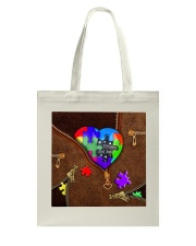 Autism - Different Not Less Tote Bag thumbnail